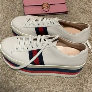 Gucci platforms